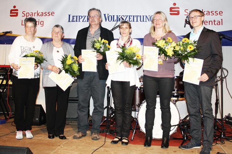 Ehrung des Kreissportbunds Landkreis Leipzig