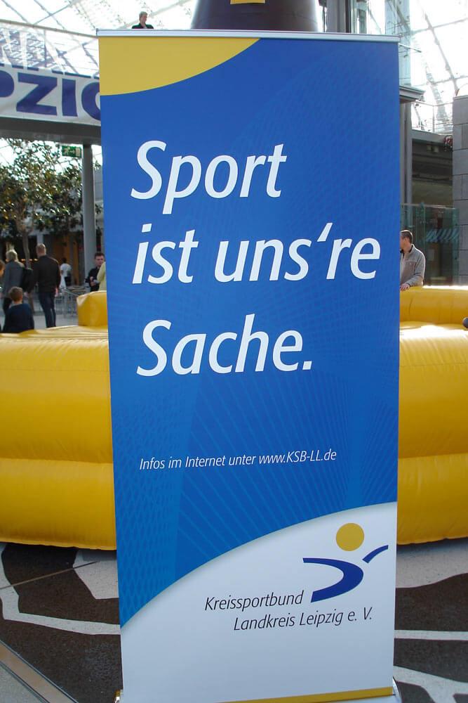 Kreissportbund Landkreis Leipzig Messe Haus Garten Freizeit