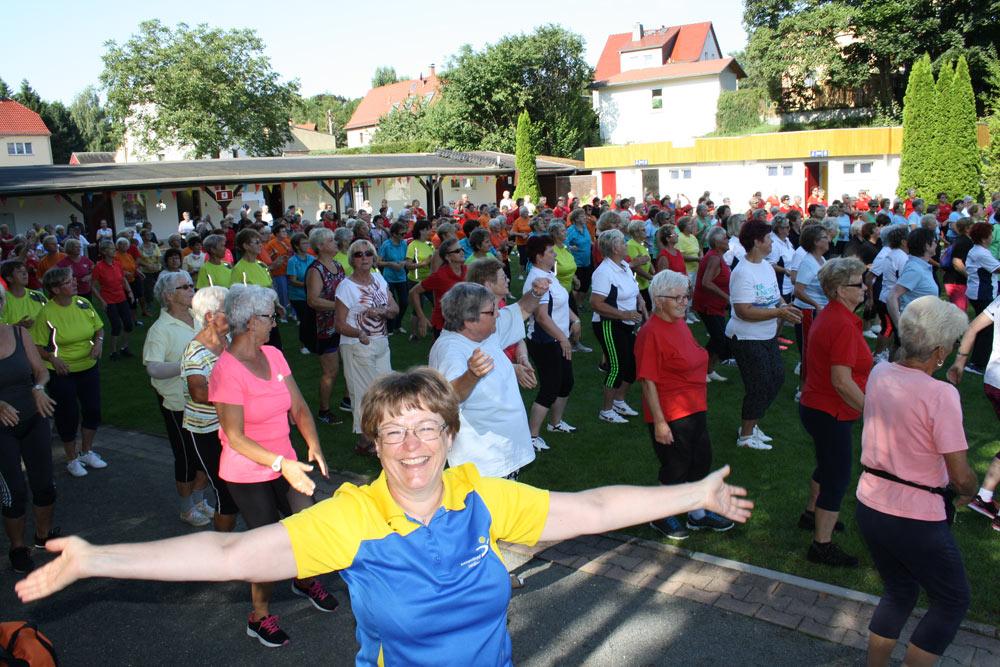 Seniorensportfest des Kreissportbundes Leandkreis Leipzig