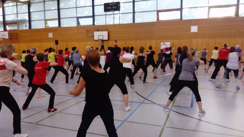 Gymnastickurs vom Kreissportbunds Landkreis Leipzig